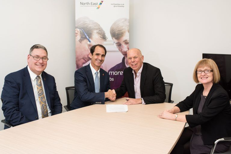 North East England and Delaware sign economic development MOU