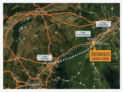 delaware logistic center strategic location