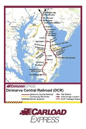 Carload Express Delmarva Central Railroad