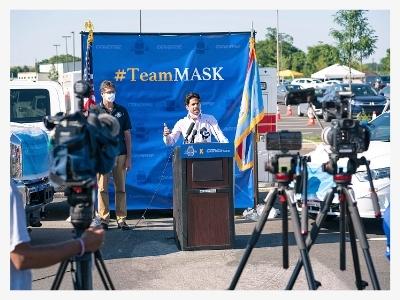 Delaware team mask campaign in Delaware