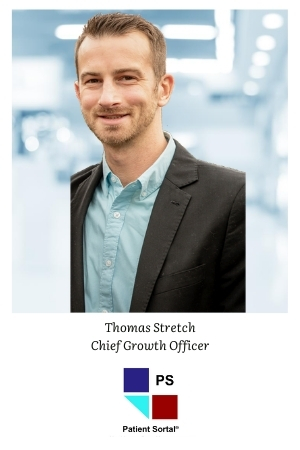 Patient Sortal Chief Growth Officer Thomas Stretch