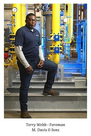 MDavis foreman Terry Webb Delaware