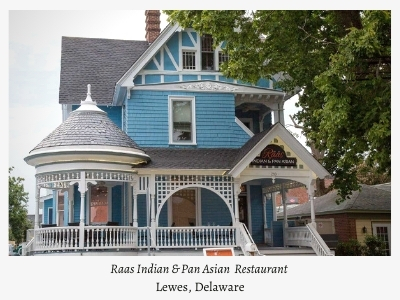 lewes delaware Indian restaurant Raas