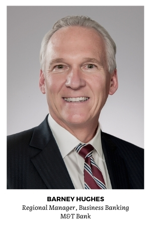 M&T regional manager Barney Hughes