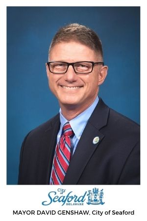 Mayor of Seaford Delaware David Genshaw